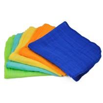 Face Cloths 5-PK Organic Cotton