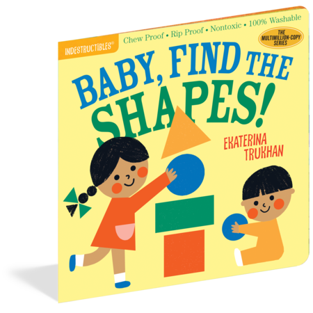 Indestructibles INDESTRUCTIBLES- Baby Find the Shapes