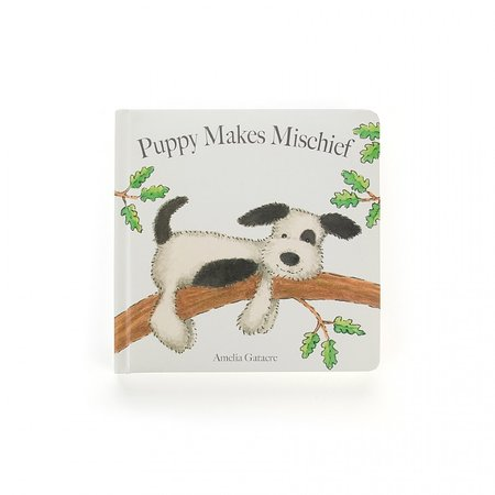 Jellycat Inc Puppy Makes Mischief Book by Jellycat Inc.