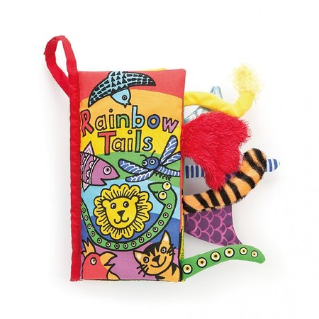Jellycat Inc Rainbow Tails Activity Book by Jellycat Inc.