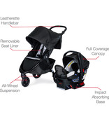 Britax B-Free Stroller &  Endeavour Infant Seat Travel System- Clean Comfort