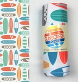 Luv Bug Co. Hooded UPF 50+ Sunscreen Towel - Surf Boards