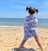 Luv Bug Co. Hooded UPF 50+ Sunscreen Towel - Mermaid