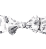 Copper Pearl Knit Headband Bow- Rowan