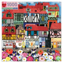 Whimsical Village 1000pc Puzzle