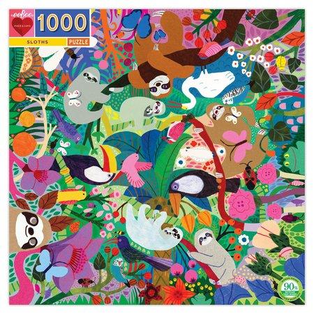 eeBoo Sloths 1000pc Puzzle