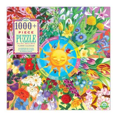 eeBoo Flower Calendar 1000pc Puzzle