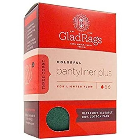 GladRags GladRags Pantyliner Plus 3-Pack (Longer)