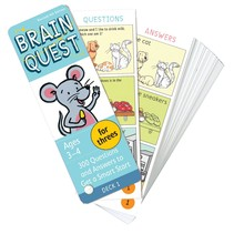 Brain Quest for Three's (Ages 3-4)