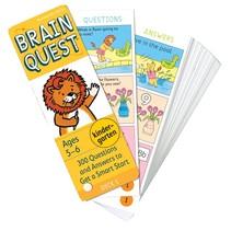 Brain Quest: Kindergarten (Ages 5-6)