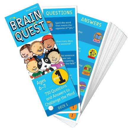 Brain Quest Brain Quest: Grade 1 (Ages 6-7)