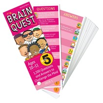 Brain Quest: Grade 5 (Ages 10-11)