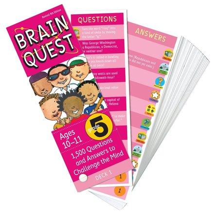 Brain Quest Brain Quest: Grade 5 (Ages 10-11)