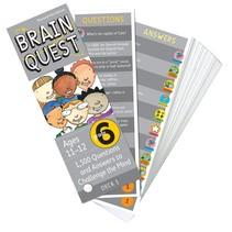 Brain Quest: Grade 6 (Ages 11-12)