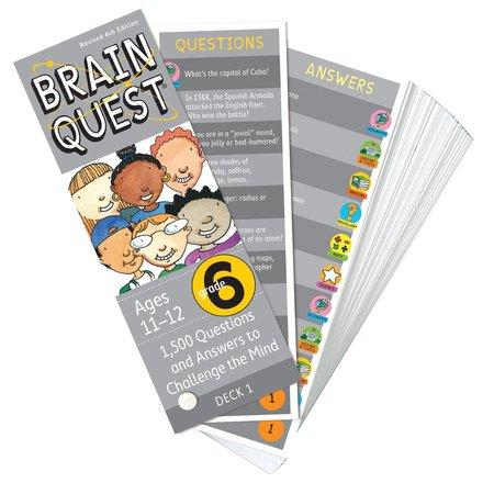Brain Quest Brain Quest: Grade 6 (Ages 11-12)
