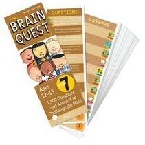 Brain Quest: Grade 7 (Ages 12-13)