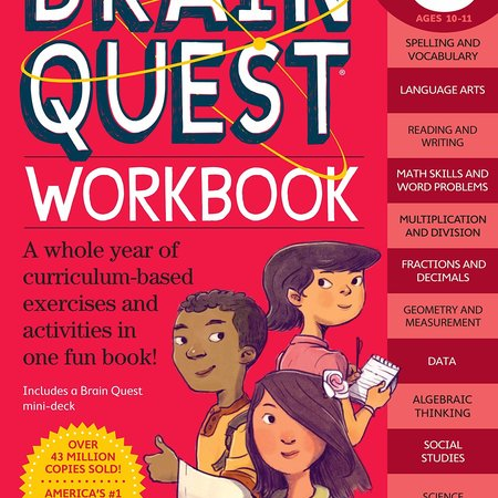 Brain Quest Brain Quest Workbook: Fifth Grade