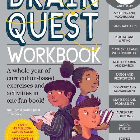 Brain Quest Brain Quest Workbook: Sixth Grade