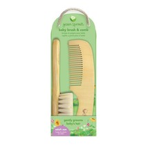 Natural Baby Brush and Comb
