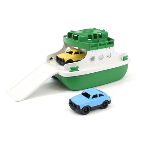 Green Toys Ferry Boat (Green/White)