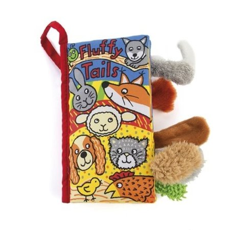 Jellycat Inc Fluffy Tails Activity Book