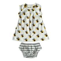 Organic Bee Dress Set