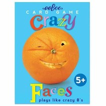 Crazy Faces Playing Cards