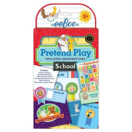 eeBoo School Pretend Play