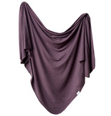 Copper Pearl Swaddle Blanket- Plum