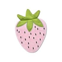 Mini Strawberry Crinkle Blankie