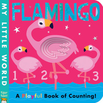 Flamingo Counting Board Book