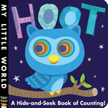 Hoot: Hide-and-Seek Counting Board Book