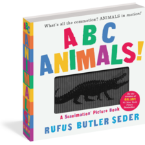 ABC Animals Scanimation Book