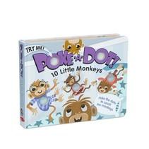 Poke-a-Dot 10 Little Monkeys Book