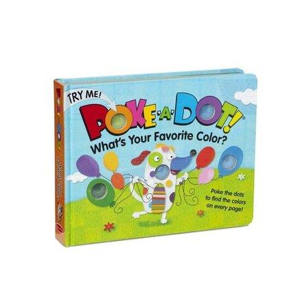 Melissa & Doug Poke-a-Dot Favorite Color Book