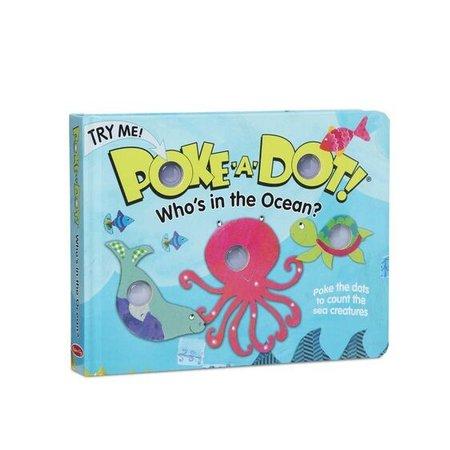 Melissa & Doug Melissa & Doug Poke-a-Dot Who's in the Ocean?