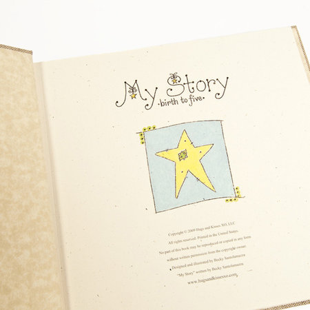 Hugs and Kisses XO Baby Memory Book: Dream Big Little One (Blue)