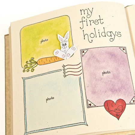Hugs and Kisses XO Baby Memory Book: Noah's Ark