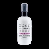 Zoey Naturals Island Hibiscus Hand Sanitizer 4oz