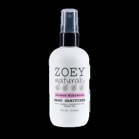 Zoey Naturals Zoey Naturals Island Hibiscus Hand Sanitizer 4oz