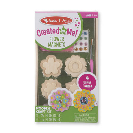 Melissa & Doug Created By Me! Flower Magnets