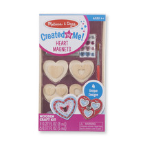 Created By Me! Heart Magnets