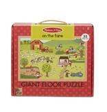 Melissa & Doug Giant Floor Puzzle- On The Farm
