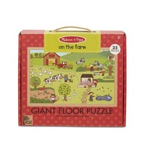 Giant Floor Puzzle- On The Farm