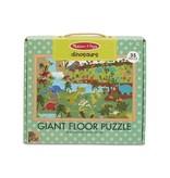 Melissa & Doug Giant Floor Puzzle- Dinosaurs