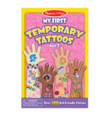 Melissa & Doug My First Temporary Tattoos- Pink