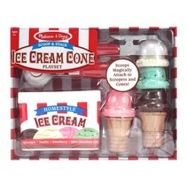 Scoop and Stack Ice Cream Cone Playset