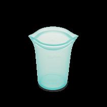 Medium Silicone Storage Cup- Teal