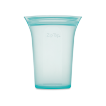 Large Silicone Storage Cup- Teal