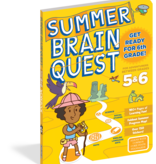 Brain Quest Summer Workbook- 5th and 6th Grade